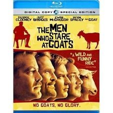 THE MEN WHO STARE AT GOATS, SPECIAL EDITION BLU-RAY DVD MOVIE