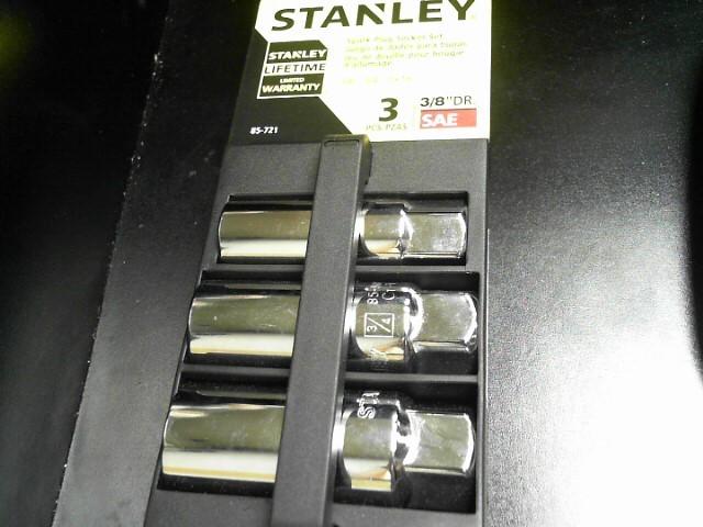 STANLEY Sockets/Ratchet 85-721 SPARK PLUG SOCKET SET 3PC