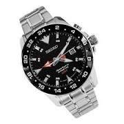 SEIKO Gent's Wristwatch 5M42-0B21 KINETIC MENS WATCH