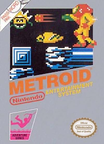 NINTENDO Nintendo NES Game METROID NES