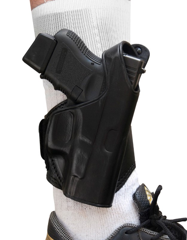 TAGUA GUN LEATHER Accessories LEATHER ANKLE HOLSTER LANK-330
