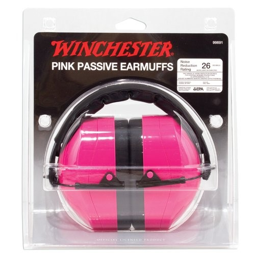 WINCHESTER Firearm Parts PINK PASSIVE EARMUFFS