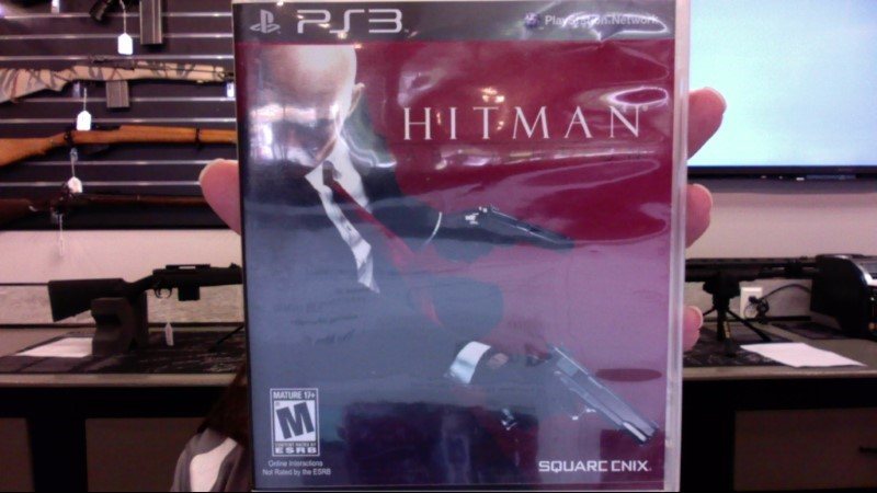 SONY Sony PlayStation 3 Game PLAYSTATION 3 HITMAN