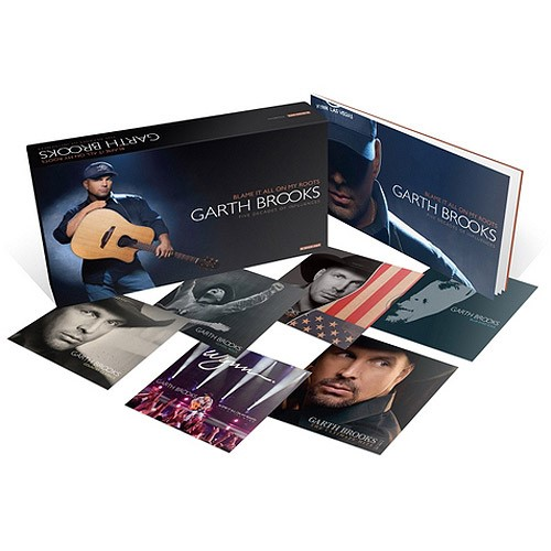 GARTH BROOKS Entertainment Memorabilia BLAME IT ALL ON MY ROOTS