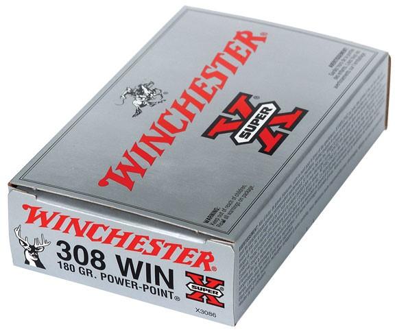 WINCHESTER Ammunition 308 WIN 180GR POWER-POINT