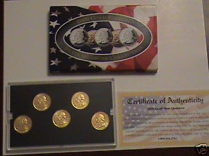 UNITED STATES Mint Set 2000 GOLD EDITION STATE QUARTER COLLECTION