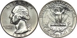 UNITED STATES Silver Coin WASHINGTON QUARTER (1932 1964)