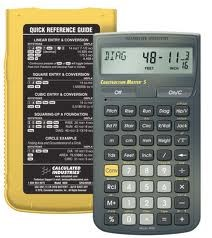 CALCULATED INDUSTRIES INC Calculator CONSTRUCTION MASTER 5