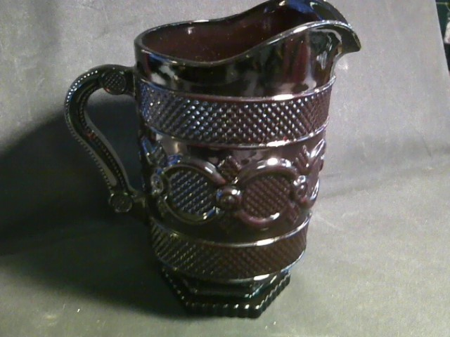 AVON Glassware CAPE COD PITCHER