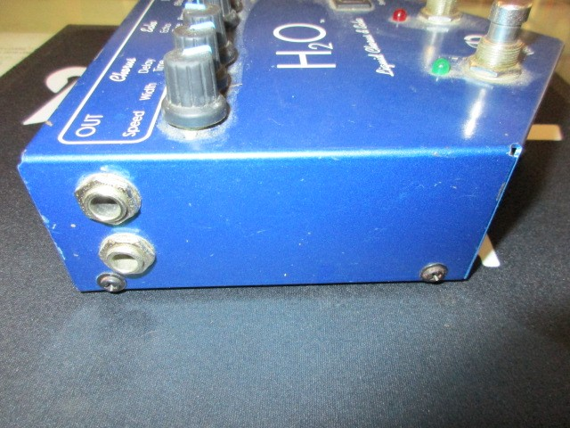 VISUAL SOUND Effect Equipment H20 LIQUID CHORUS & ECHO