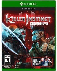 MICROSOFT Microsoft XBOX One Game KILLER INSTINCT COMBO BREAKER PACK X BOX ONE