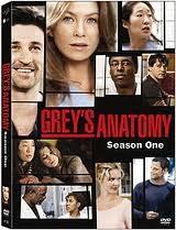 GREY'S ANATOMY SEASON 1 DVD, GOOD CONDITION