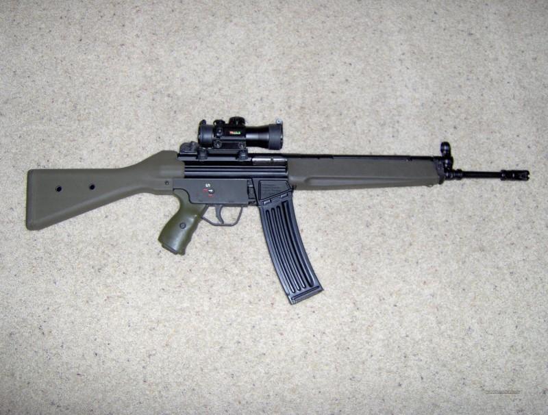 CENTURY INTERNATIONAL ARMS Rifle C93 .223