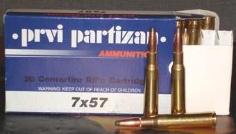 PRVI PARTIZAN Ammunition 7X57