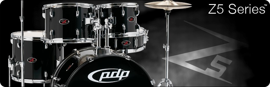 PDP Drum Set Z5 SERIES DRUMS