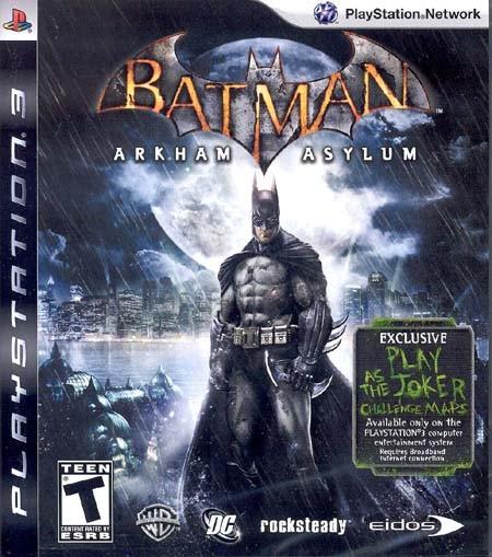 SONY Sony PlayStation 3 Game ARKHAM ASYLUM