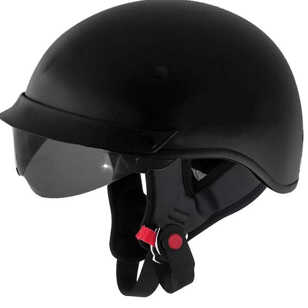 CYBER HELMETS Motorcycle Helmet U-72 XL BLACK WITH INTERNAL SHIELD