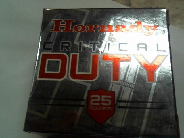 HORNADY Ammunition CRITICAL DEFENSE 9MM 15 GR