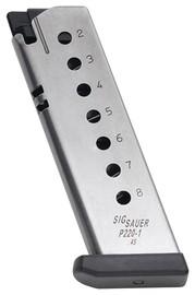 SIG SAUER Clip/Magazine SIG P220 MAGAZINE - 45ACP - 8 ROUND