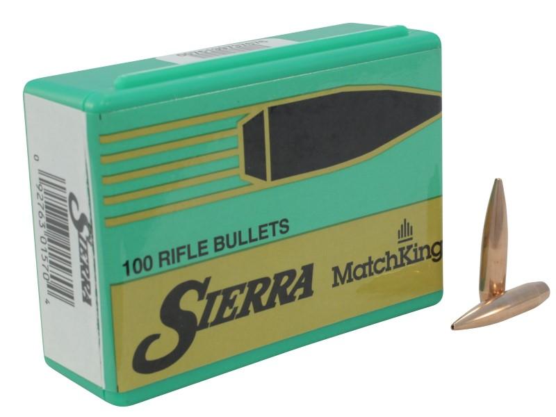 SIERRA BULLETS Ammunition 6MM .243 107 GR.HPBT MATCH 1570