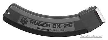 RUGER Clip/Magazine BX-25 25RD MAG