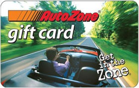 AUTOZONE Gift Cards GIFT CARD