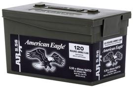 AMERICAN EAGLE 5.56 NATO 120 ROUND AMMO CAN (XM193LPC120)
