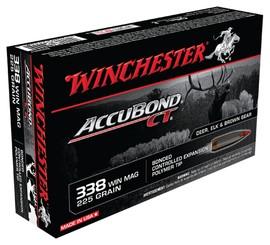 WINCHESTER Ammunition 338 WIN MAG 225 GR ACCUBOND