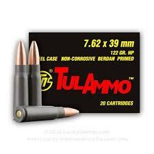 TUL AMMO Ammunition 20 CARTRIDGES
