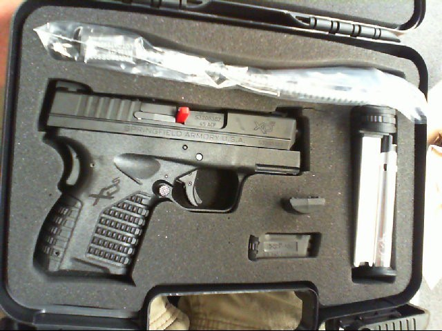 SPRINGFIELD ARMORY Pistol XDS-45 (XDS93345BE)