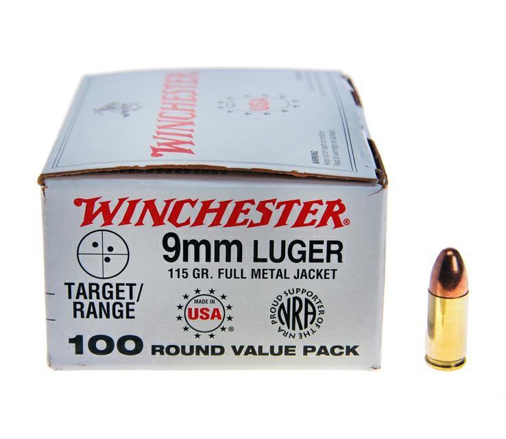 WINCHESTER Ammunition LUGER 9MM