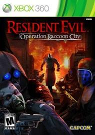 MICROSOFT Microsoft XBOX 360 Game RESIDENT EVIL OPERATION RACCOON CITY