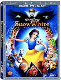 BLU-RAY MOVIE Blu-Ray SNOW WHITE & THE SEVEN DWARFS - DIAMOND EDITION