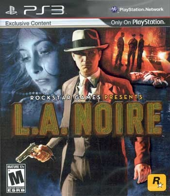 SONY Sony PlayStation 3 L.A. NOIRE