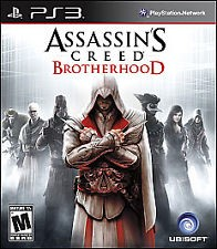SONY Sony PlayStation 3 Game ASSASSINS CREED BROTHERHOOD - PS3