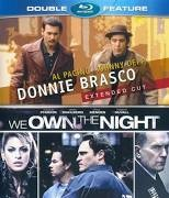 BLU-RAY MOVIE Blu-Ray RAY MOVIE DONNIE BRASCO/WE OWN THE NIGHT