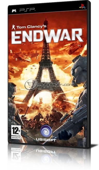 SONY PSP Game ENDWAR PSP