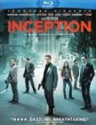BLU-RAY MOVIE INCEPTION