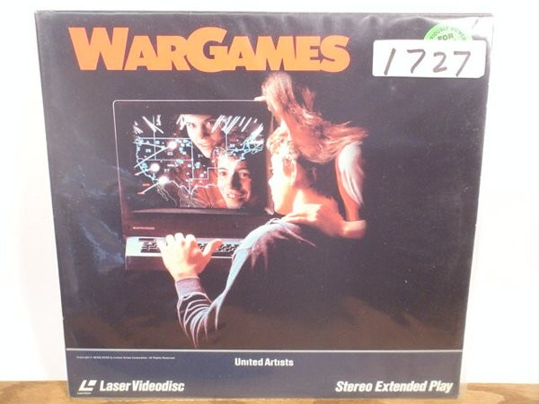 LASER DISC Laser Disk WAR GAMES