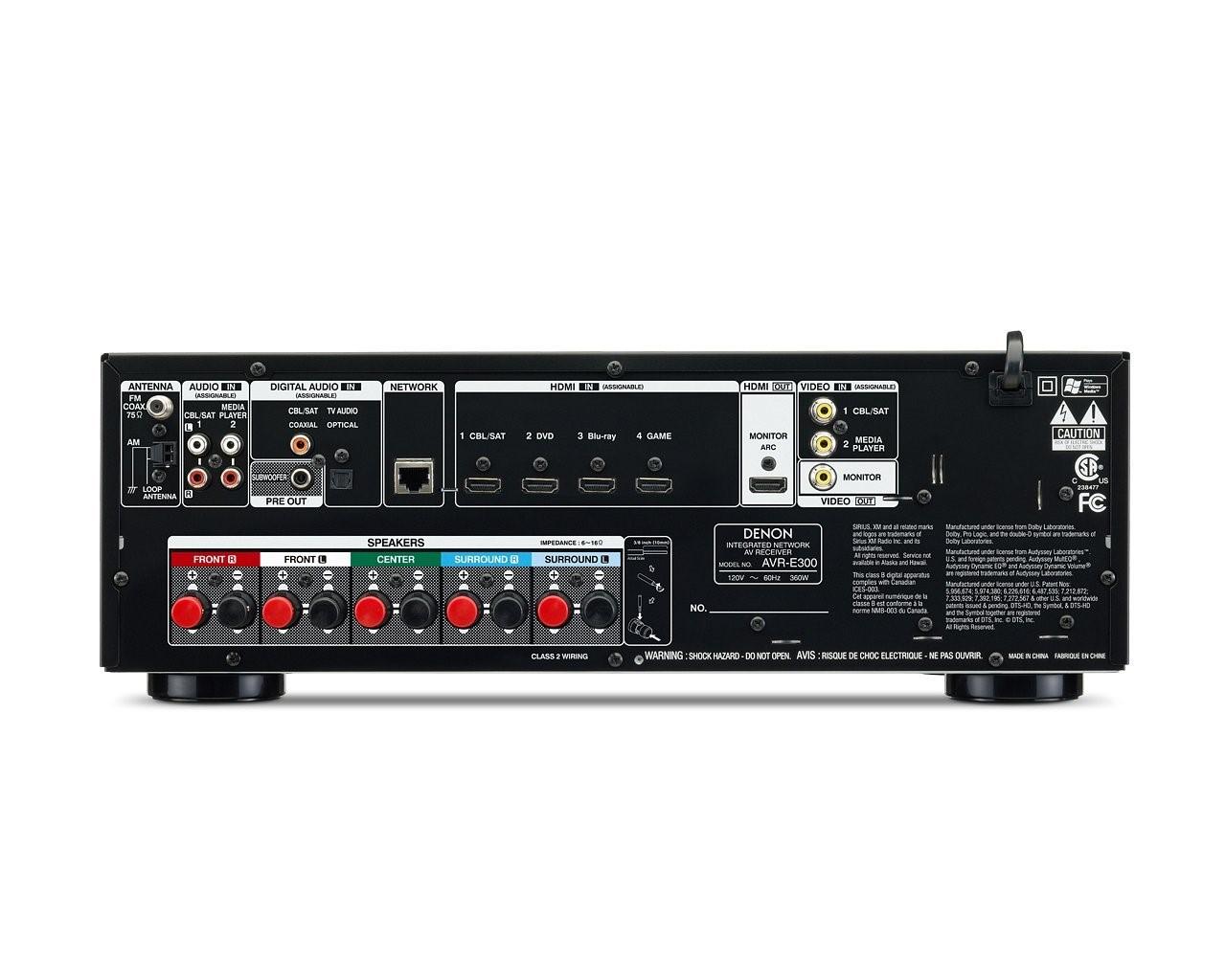 DENON Receiver AVR-E300