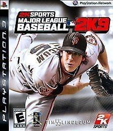 SONY Sony PlayStation 3 Game MAJOR LEAGUE BASEBALL 2K9