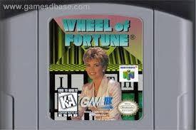 NINTENDO Nintendo 64 Game N64 WHEEL OF FORTUNE