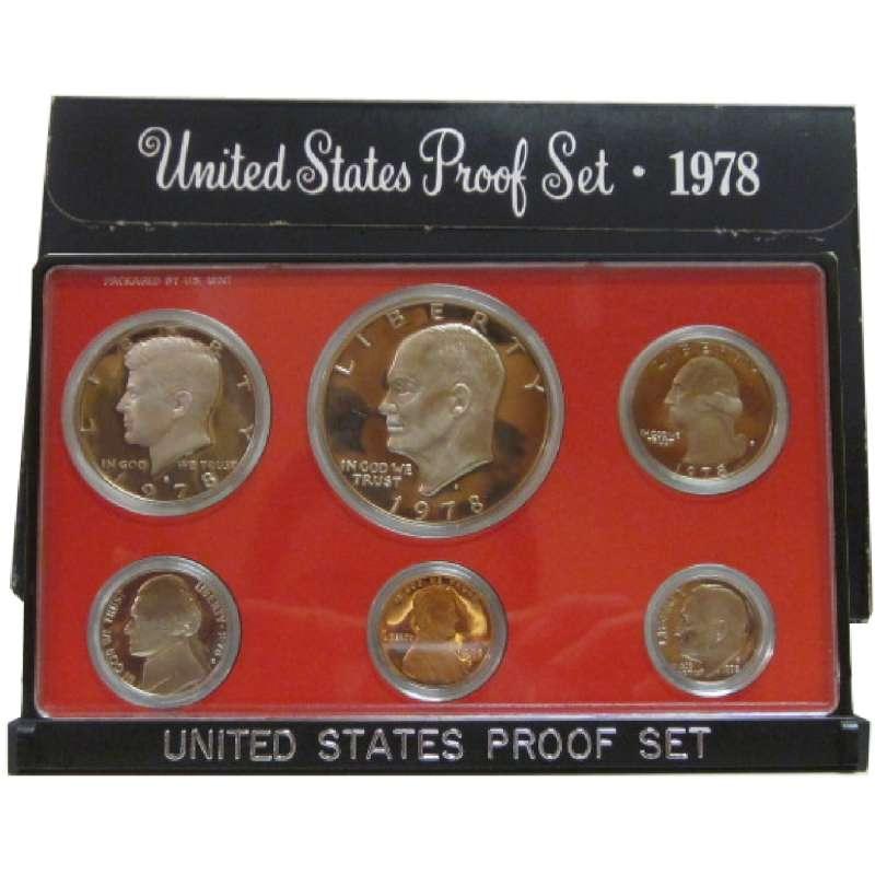 UNITED STATES Proof Set 1978 PROOF SET