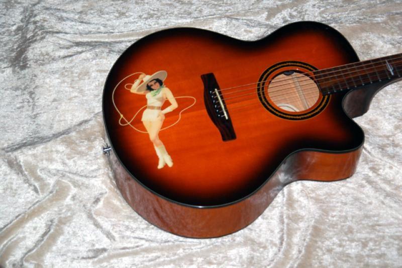 FENDER Acoustic Guitar BIG TEX CE SB