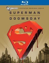 BLU-RAY MOVIE SUPERMAN DOOMSDAY