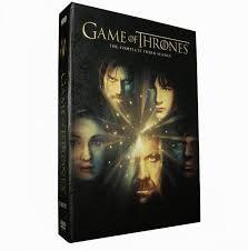 DVD BOX SET DVD GAME OF THRONES SEASON 3