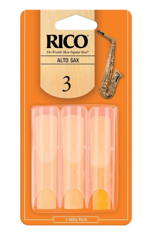 RICO REED Electronic Instrument RJA0325 #3 CLARINET REEDS