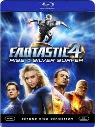 BLU-RAY MOVIE Blu-Ray FANTASTIC 4 RISE OF THE SILVER SURFER