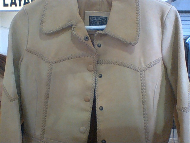 LUCKY BRAND Clothing LEATHER JACKET