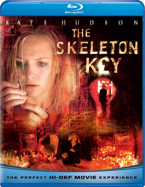 THE SKELETON KEY, MYSTERY BLU-RAY MOVIE STARRING KATE HUDSON.